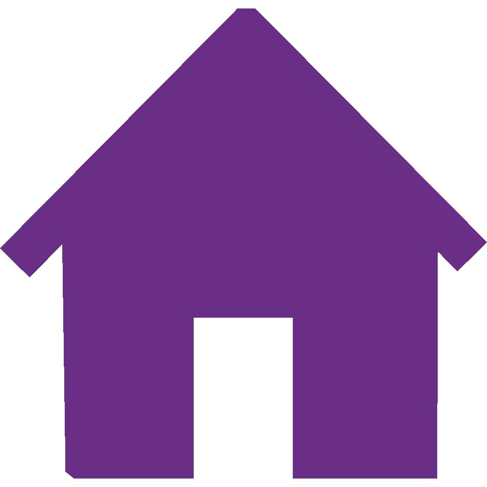 Purple huis